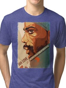 Jah Jah Love Tri-blend T-Shirt