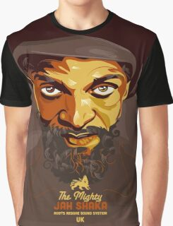 The Mighty Jah Shaka Graphic T-Shirt