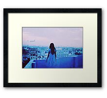jetlagged Framed Print