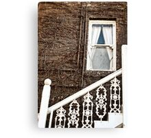 White Brown and the Union Hotel Canvas Print