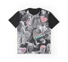 Riker Tumblr Collage  Graphic T-Shirt