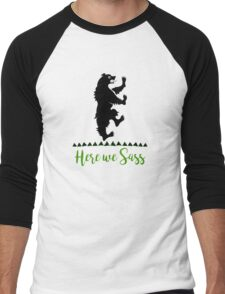 Lyanna Mormont - House Mormont - Here We Sass shirt Men's Baseball ¾ T-Shirt