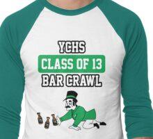 ychs bar crawl Men's Baseball ¾ T-Shirt