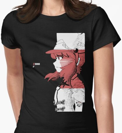 Music Found Me-Nonon  Womens Fitted T-Shirt