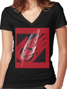 """""""The Gift"""" Women's Fitted V-Neck T-Shirt"""