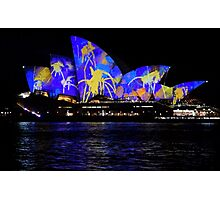 Vivid 2016 Opera House 9 Photographic Print