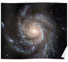 Pinwheel Galaxy M101 Poster