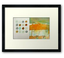 paperbag abstract Framed Print