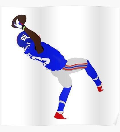 Odell Beckham Jr Giants! Poster