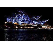 Vivid 2016 Opera House 11 Photographic Print