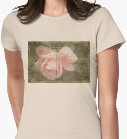 Faded Love ~ I Still Think of You...  Womens Fitted T-Shirt