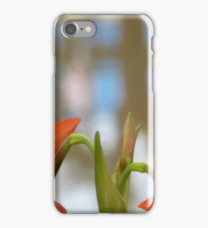 Lillies by the Siem Reap river iPhone Case/Skin