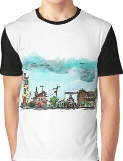 Urban Sketching Doodle 01 Graphic T-Shirt