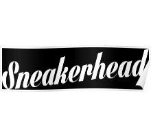 Sneakerhead Script - White Poster