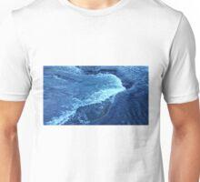 Ice Crystal Wave Unisex T-Shirt
