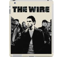 The wire casts iPad Case/Skin