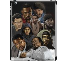 The wire characters iPad Case/Skin