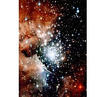 Red Galaxy Photographic Print
