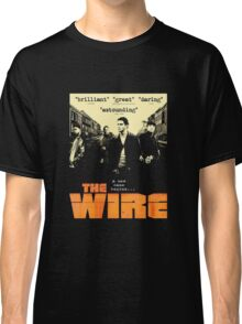 The wire TV series Classic T-Shirt