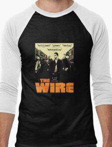 The wire TV series Men's Baseball ¾ T-Shirt