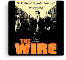 The wire TV series Canvas Print