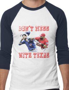 Don't Mess With Texas Men's Baseball ¾ T-Shirt