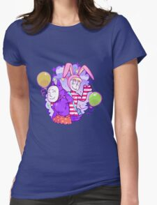 Popee & Kedamono Womens Fitted T-Shirt