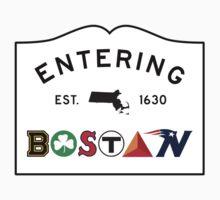 Entering Boston One Piece - Short Sleeve