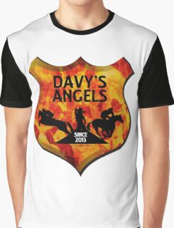 Davy's Angels Badge Graphic T-Shirt