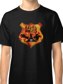 Davy's Angels Badge Classic T-Shirt