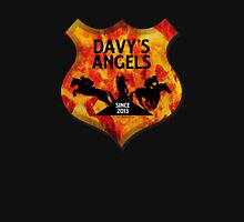 Davy's Angels Badge Womens Fitted T-Shirt