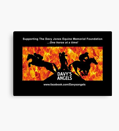 Davy's Angels Canvas Print