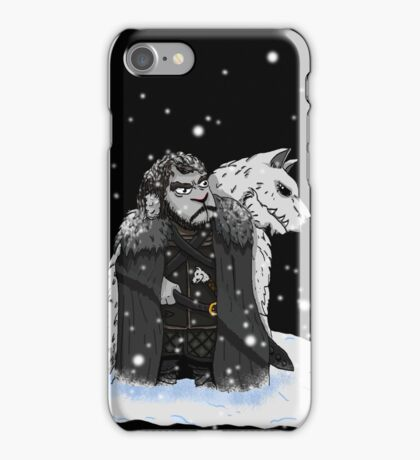 Sheep snow iPhone Case/Skin