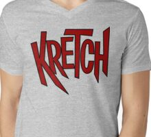 Kretch Mens V-Neck T-Shirt