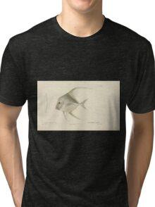 Natural History Fish Histoire naturelle des poissons Georges V1 V2 Cuvier 1849 002 Tri-blend T-Shirt