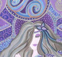 Celtic moon Goddess Sticker