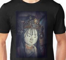 Traditional Wooden Chinese Doll Unisex T-Shirt