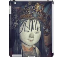 Traditional Wooden Chinese Doll iPad Case/Skin