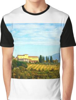 Tuscany hill Graphic T-Shirt