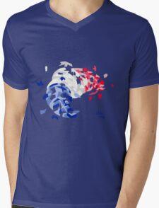 The revolutionary croissant Mens V-Neck T-Shirt