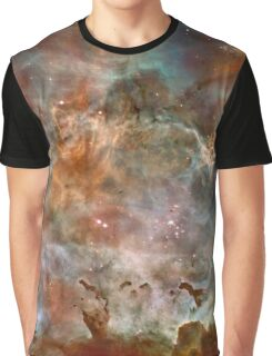 Dark Clouds of the Carina Nebula Graphic T-Shirt