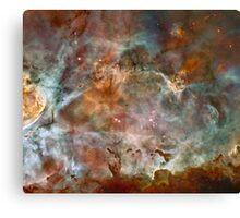 Dark Clouds of the Carina Nebula Canvas Print