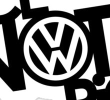 Nice Not Rice - VW Sticker
