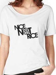 Nice Not Rice - VW Women's Relaxed Fit T-Shirt