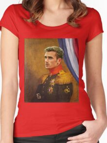 Antoine Griezmann Women's Fitted Scoop T-Shirt