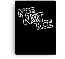 Nice Not Rice - VW Canvas Print