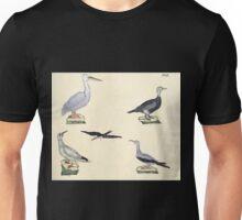 Naturgeschichte in Bildern mit erläuterndem Text E Strack 1820 Lief 2 Birds 031 Unisex T-Shirt