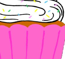 A cupcake for a sweet day! Sticker