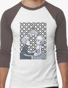 Meeting in the Coffee room  Men's Baseball ¾ T-Shirt