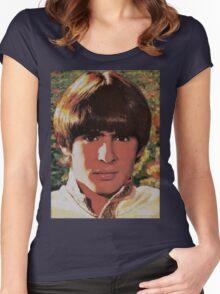Davy Jones Women's Fitted Scoop T-Shirt